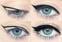 DIY Make Up / Easy, do-it-yourself guides for you to make your make up fab - eyes, cheeks, base you name it!