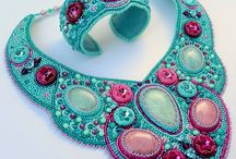Bead embroidery sets / Bead embroidery jewelry