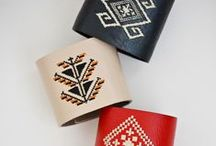 Iutta Accessories /  Iutta`s accessories bear carefully embroidered symbols. The traditional motifs are inspired from the Romanian culture and its specific folklore, and the design can be easily adapted to any outfit, offering it a distinctive note.