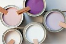 """Let's Paint: Bedroom / Color can impact our moods substantially.  In fact, there is an entire psychology that exists around color and the effect it has on our lives.  So why not use that to our advantage in the bedroom and create a space designed for your specific needs.   """"Mere color, unspoiled by meaning, and unallied with definite form, can speak to the soul in a thousand different ways.""""  ~ Oscar Wilde"""