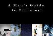 "A Man's Guide to Pinterest / This board is an amazing place to market your goods. Message me you'll be invited to pin info-graphics, goods & things you're selling. Like, repin, and follow the boards users. Look at the board before pinning. It is a very clean marketing board. No porn, no sexy, no sleazy, and no spamming.  Zero tolerance, you will absolutely be blocked and all pins deleted. This Board is straight out of Kindle Book ""A Man's Guide to Pinterest"", by Tom Harrison Available on Amazon.com."