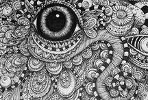 Sacred: zentangles art