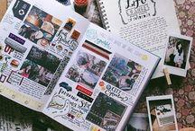 scrapbooking x bullet journal