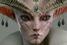 Creatures: fantasy