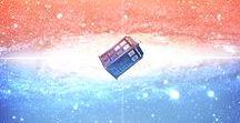 Inside The Blue Box / Wibbly wobbly timey wimey fangirl's stuff ;)