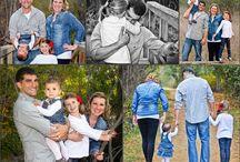 Family Photography  / Family photo posing ideas...