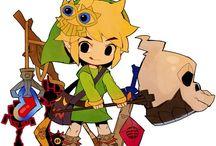 Legend of Zelda / For the Hero in Green. / by Gillian Rains