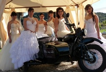 Weddings by Bike My Side / Why not give a vintage and original style to your Weeding by hiring a Classic Sidecar? The Groom and Bride will be delighted and the Guests really surprised!