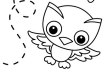 Toonia Colorbook - coloring pages / Print out blank pages.