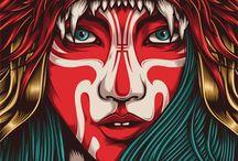 Beauty is in thee Eye / Artwork / by Angelique Falardeau
