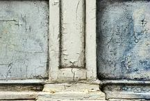 Faded Love ........... /  peeling paint , faded walls , chalky hues , a love of worn beauty ..........