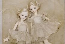 dolls / Beautiful diy and collectible dolls