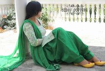 Sari+Punjabi etc.