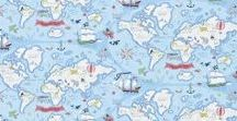 Sanderson - Abracazoo / Enter into the make believe worlds of pirate treasure maps and the fantasy lands of fairy castles, or learn by play with the fun but educational alphabet zoo wallpaper. The wide range of designs within the Sanderson Abracazoo collection beautifully illustrates the imaginary worlds of children. The collection ranges from classic themes to more quirky, contemporary and imagery designs.