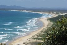 Byron Bay    ~     not just a place   ~    it is a lifestyle  / Some of the things we love about the NSW  north coast of Australia and vision board for the someday beach cottage