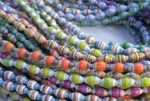 paper beads / by deborah myers