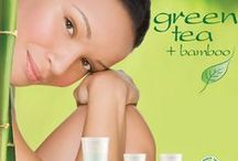Green Tea + Bamboo / Enhance the Natural Beauty of your Skin with the Benefits of Green Tea + Bamboo