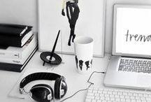 Office decor - Fashion Tech Work Spaces