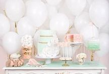 Pretty Pastel Parties  / Celebrating the many pretty pastels that just love to party