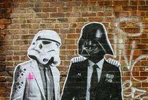 Urban Art. / Street art, clichés urbains, créativité du quotidien.