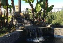 Fountains | Waterfalls / Complete makeovers that include waterfalls, fountains and water features.  Prunin does unique fountains, waterfalls and water features that will bring the serene to your home!  Call Rob at 714-236-9887 or www.Prunin.com for information.