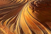 Sandstone and rock formations / Beautiful and interesting sandstone, rock formations and features