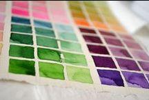 aquarelle, acrylique (cours de peinture)