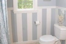 bathrooms / by Kimberly