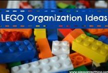 Legos Organized / Find creative ways to organize and contain the wonderful world of Legos