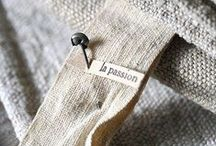 L I N E N / I love the natural look of linen.