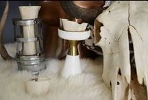 Bone & Copper Decor / How bone and copper ware is used as home ware