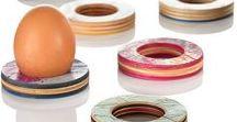 Skateboard Recycling / Upcycling / Armreifen, Topfuntersetzer, Eierbecher aus 100% recycelten Skateboards, die an 32 Orten in Deutschland gesammelt werden.