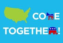 Bipartisan Insights / Graphics that describe our group's sentiments promoting bipartisan action in Washington
