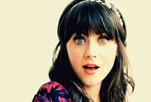 zooey Deschanel / 'A lot of people work out to be skinny. That's so boring, and it seems like a depressing goal for a modern woman'