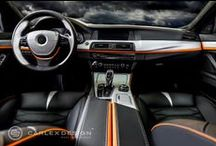 BMW F10 / BMW F10 THE RIPPER TOUCH interior design by Carlex Design