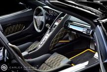 Porsche Carrera GT / Unique Interior Porsche Carrera GT
