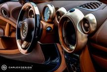 Tailor-Made steering wheels. / Tailor-Made steering wheels by Carlex Design