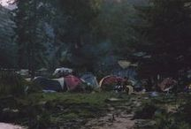 Camping / Sleeping outdoors / by hugs punch