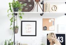 Home Office / Home office decor ideas