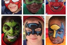Facepainting for Boys / Face painting designs for boys