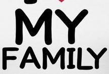 I <3  my Family / Sprüche über Familie
