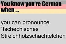All about Germany / Lustiges rund um die Deutsche Sprache und Deutschland