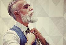 Beard + hair