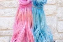 hair / cool hair colors or/and cuts