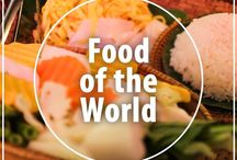 Food of the World / We travel for food! This board includes recipes, restaurant reviews and food inspiration from around the world.
