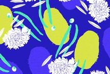 Pattern Inspiration - That Blue Feeling