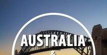 Australia / New Zealand / Diving in the Great Barrier Reef, Climbing the Sydney Harbour Bridge and driving through the Outback - all are on my bucket list! Here is a board of travel inspiration for Australia and New Zealand