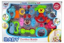 Musical Baby Rattles & Toys / One of the first Toys that a Baby is introduced to from the moment they are Born, is a Rattle. And it brings them Unbound Joy!