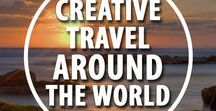 Creative Travel Around The World ✈️ / Pin your posts all about Travel!  If you want to be added as a contributor to this board, follow me on Pinterest and send over a message with your Pinterest handle. Pin maximum 10 pins a day. Please Pin Vertical Pins - no spam and nudity please.