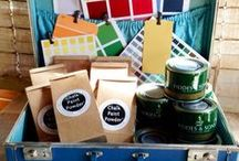 Websters Chalk Paint Powder / Websters Chalk Paint Powder™ was created to answer consumer needs for affordable chalk paint in an endless array of colors. We were successful in creating a product that eliminates the need for most sanding and priming, adheres beautifully to most surfaces, and offers extended coverage & durability. We are proud that our product is non-toxic, contains no VOC's, is environmentally friendly and is made in the USA. Websters Chalk Paint Powder™...the original Chalk Paint Powder!